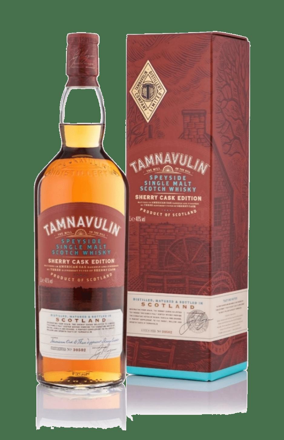 Tamnavulin 0,7 в подарочной упаковке
